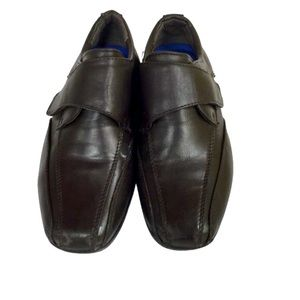 Left & Right Size 1 Brown Boys Shoes